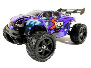 Радиоуправляемый трагги Remo Hobby S-EVOR Brushless 4WD 2.4G 1/16 RTR синий