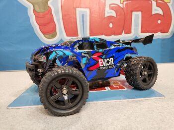 Радиоуправляемая трагги Remo Hobby S EVO-R Brushless UPGRADE 4WD 2.4G 1/16 RTR синий