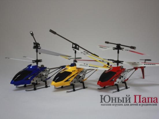 Вертолет на радиоуправлении SYMA S107 Phantom (gyro 109)