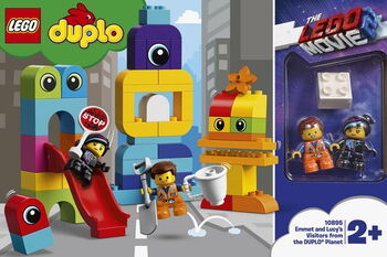 Конструктор LEGO DUPLO Movie 2 Пришельцы с планеты