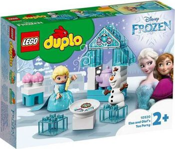 Конструктор LEGO DUPLO Princess TM Чаепитие у Эльзы и Олафа