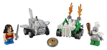 Конструктор LEGO SUPER HEROES Mighty Micros: Чудо-женщина против Думсдэя