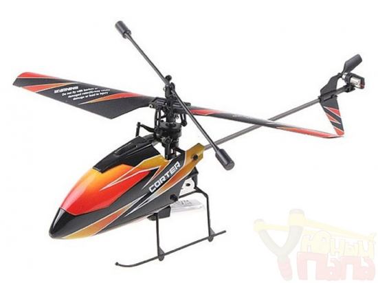 Радиоуправляемый вертолет WLToys V911 4-х канальный с аппаратурой 2.4G