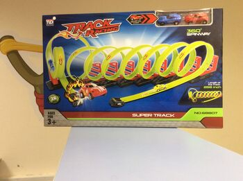 Детский пусковой трек Track Racing длина трека 650 см - 68807