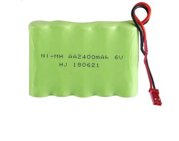Аккумулятор Ni-Mh AA 6v 2400mah форма Flatpack разъем JST