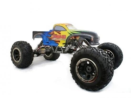 Радиоуправляемая машина HSP Electric Longer Crawler Truck 4WD 1:8