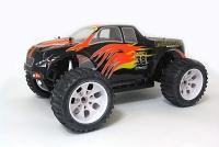 Радиоуправляемая машина HSP Brontosaurus EP 4WD 1:10 (черный с оранжевым)