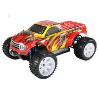 Радиоуправляемая машина HSP Brontosaurus EP 4WD 1:10 (красный с оранжевым)