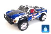 Радиоуправляемая машина HSP Desert EP 4WD 1:10 (синий с белым)