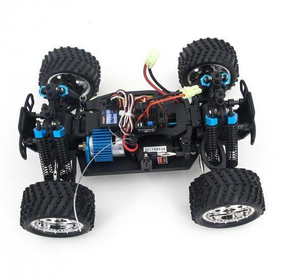 Радиоуправляемая машина HSP KidKing EP 4WD 1:16 (черный с красным)