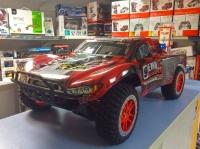 Радиоуправляемый шорт-корс трак Remo Hobby Truck 9emu 4WD RTR 1:10 2.4G красный