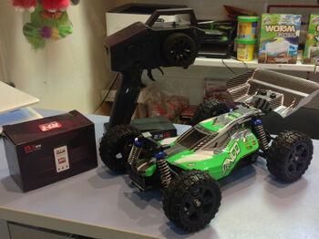 Радиоуправляемый багги Remo Hobby RH1651 DINGO Green Brushed 4WD RTR масштаб 1:16 2.4G