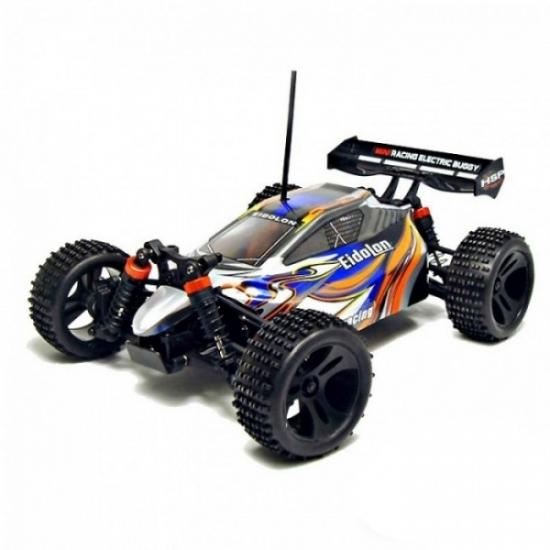 Радиоуправляемая машина HSP EidoLon EP 4WD 1:18 (синий с белым)