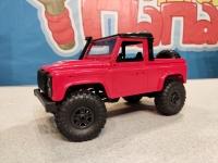 Радиоуправляемый краулер Land Rover Defender 91 pickup 1/12 4WD 2.4G красный