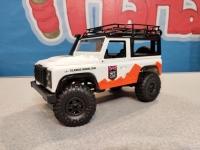Радиоуправляемый краулер Land Rover Defender 90 MN-99 1/12 4WD 2.4G белый