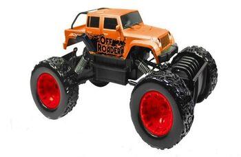 Радиоуправляемая машина Rastar краулер Rock Crawler Action 1:18