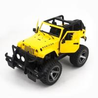Радиоуправляемый джип Double Eagle Yellow Jeep Wrangler 1:14 2.4GHz - E716-003