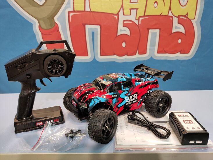 Радиоуправляемая трагги Remo Hobby RH1661 S-EVOR RED 4WD 2.4G 1/16 RTR Li-Ion