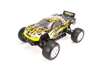 Радиоуправляемая машина HSP Tribeshead 94124N-12415 EP 4WD 1:10 (желтый с черным)