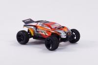 Радиоуправляемая машина HSP Ghost EP 4WD 1:18 (красный с оранжевым)