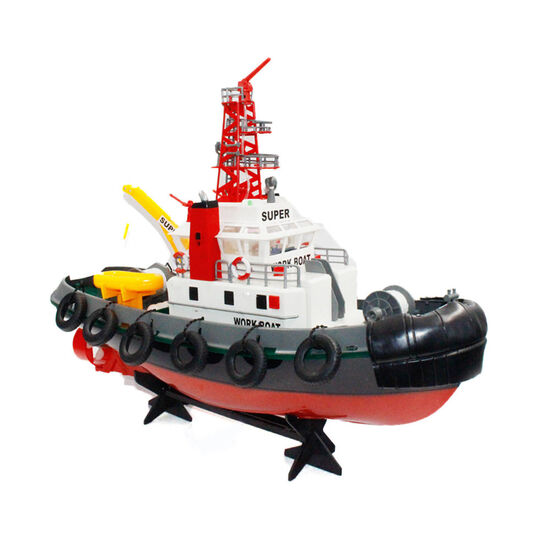 Радиоуправляемый буксир Heng Long Seaport Work Boat 2.4G - 3810