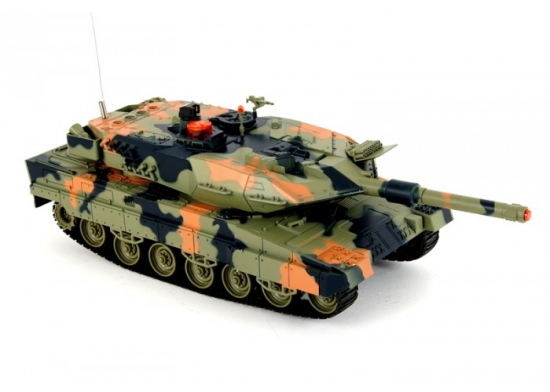 Радиоуправляемый танк Leopard HQ516 1:24 для боя с инфракрасным наведением