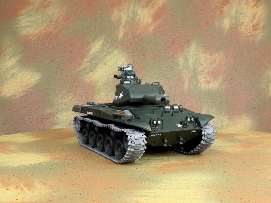 Радиоуправляемый танк Heng Long Bulldog Pro NICD 1:16 MHz