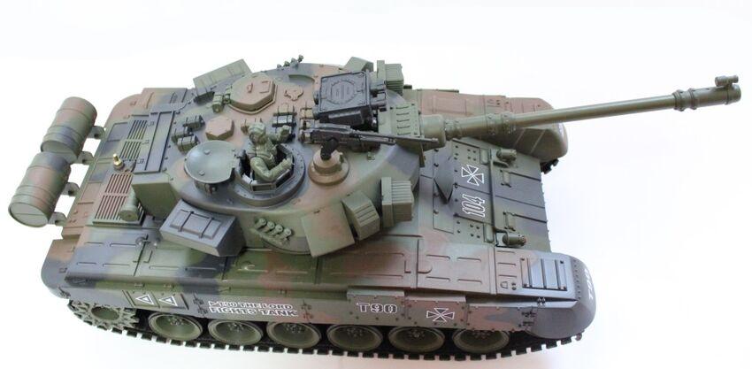 Радиоуправляемый танк House Hold 4101-7 Vladimir Russian T90 1:20 - зеленый