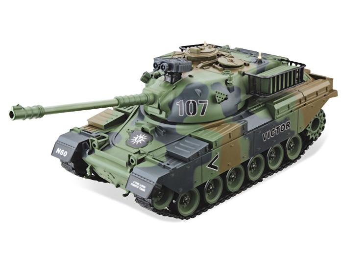 Радиоуправляемый танк HouseHold USA M60 Patton - желтый хаки