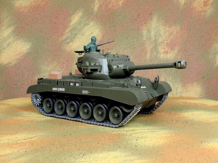 Радиоуправляемый танк Heng Long Snow Leopard PRO Professional Version 1:16