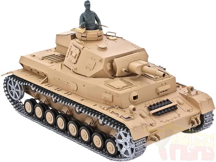 Радиоуправляемый танк Heng Long DAK Pz. Kpfw.IV Ausf. F-1 PRO 1:16