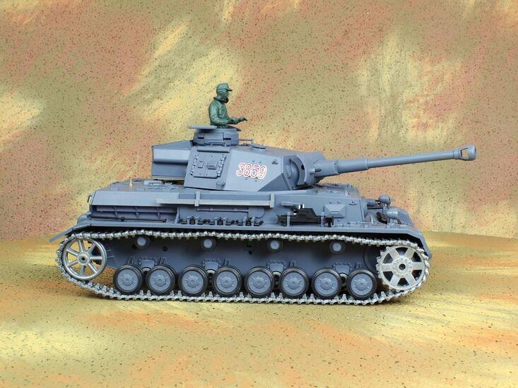 Радиоуправляемый танк Heng Long Panzerkampfwagen IV Ausf.F2.Sd.Kfz PRO 1:16
