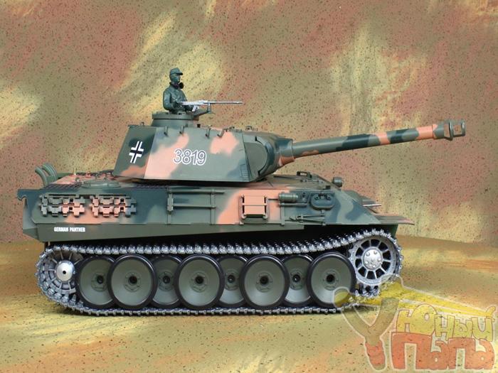 Радиоуправляемый танк Heng Long Panther PRO Professional Version 1:16