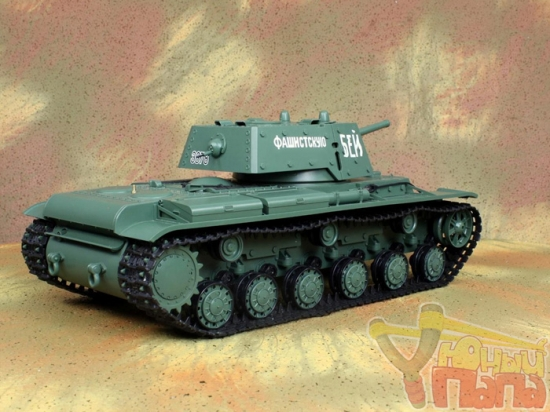 Радиоуправляемый танк Heng Long KV-1 Клим Ворошилов 1:16