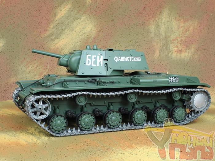 Танк Heng Long KV-1 PRO масштаб 1:16 42.5 см