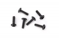 Screws, 1.6x5mm button-head, self-tapping (hex drive) (6)