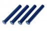 Blue Aluminum Main Shafts LaTrax Alias