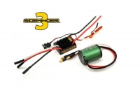 SV3 WATERPROOF 1:10TH 12V ESC 1406-5700 COMBO
