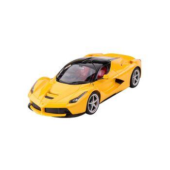 Радиоуправляемая машина Rastar 50100 Ferrari LaFerrari 1:14, открываются двери, цвет жёлтый 40MHZ